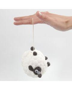 Sauen Shaun yoyo med Foam Clay