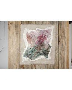 Kunstverker med håndlaget silke