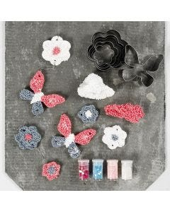 Oppheng av Foam Clay large med utstikksformer