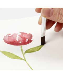 Slik maler du akvarell med glidende strøk