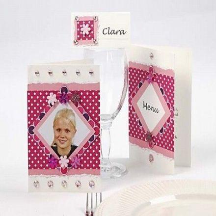 Pink Color Bar kort