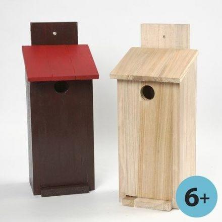 Fuglekasse - bygg selv