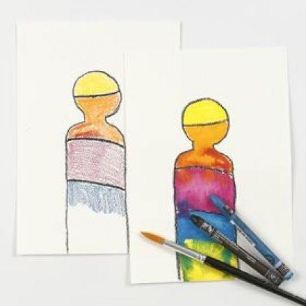 Akvareklkritt i praksis
