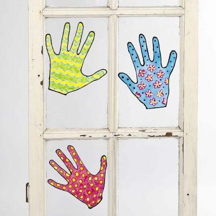 Flyttbare motiver til vinduer