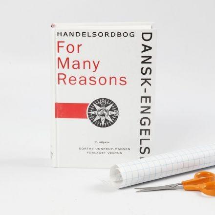 Bok med bokbeskyttelse