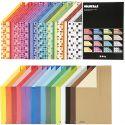 Color Bar rivekartong, A4, 210x297 mm, 250 g, ass. farger, 32x10 ark/ 1 pk.