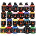 Pigment Art School, ass. farger, 24x500 ml/ 1 pk.