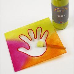 A-color glass, glassplater og color dekor