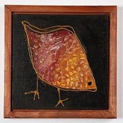 Afrikanskinspirert fugl
