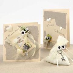Romantiske bryllupskort