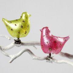 Glassfugler med 3D Glass gel
