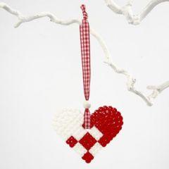Hjerteoppheng av rørperler