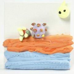 Maleplater og Silk Clay