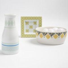 Mønstertape på porselen