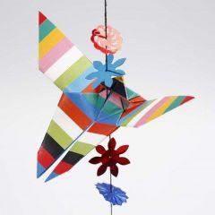 Sommerfugl brettet etter origamiteknikk