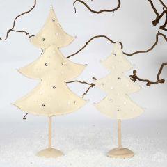 Juletrær av filt