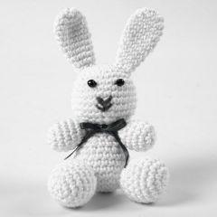 Heklet kanin av bomull