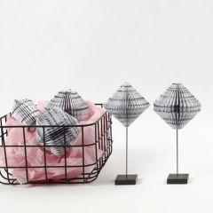 Book Folding av blokk med designpapir fra Vivi Gade