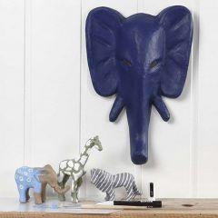 Ville dyr, farget og dekorert med tusjtegning