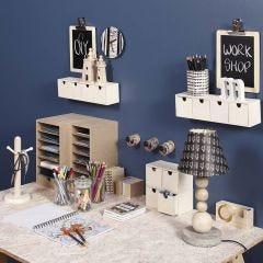 Kreativ og praktisk organisering på arbeidsplassen