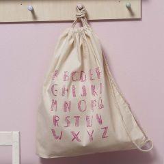 Gympose i bomull dekorert med trykk
