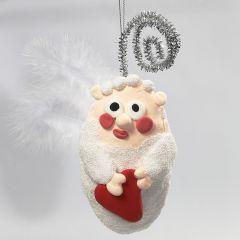 Engel av isopor med Foam Clay og Silk Clay