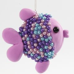 Fisk av isopor ufo, Silk Clay og Pearl Clay