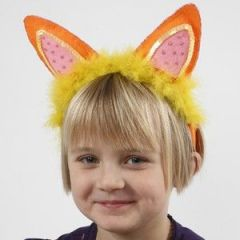 Hårbøyle med ører