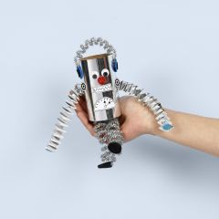 Robot av papprør