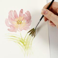 Slik maler du akvarell med lette strøk