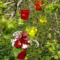 Lysglass i hagen