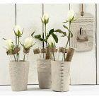 Vaser av selvherdende leire