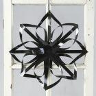 Stjerne av blanke papirstrimler fra Vivi Gade
