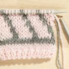 Slik lager du Fair Isle strikk med 2 farger