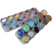 Grimas Ansiktsmaling - Sminkepalett, ass. farger, 24x15 ml/ 1 pk.