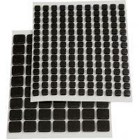 Klebeputer 3D, str. 5x5x2 mm, svart, 217 ass./ 1 pk.