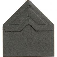 Fotohjørner, B: 10 mm, 110 g, svart, 108 stk./ 1 pk.