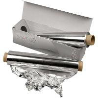 Aluminiumsfolie, B: 30 cm, 150 m/ 1 rl.