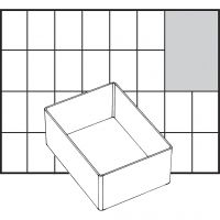 Basisinnsats, nr. A7-1, H: 47 mm, str. 109x79 mm, 1 stk.