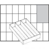 Basisinnsats, nr. A73 Low, H: 24 mm, str. 109x79 mm, 1 stk.