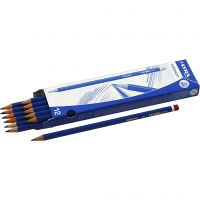 Robinson blyant, dia. 6,8 mm, hardhet B, mine 2 mm, 12 stk./ 1 pk.