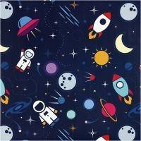Gavepapir, astronauter I verdensrommet, B: 57 cm, 80 g, 150 m/ 1 rl.