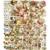 Glansbilder, helårs, 16,5x23,5 cm, 10x3 ark/ 1 pk.