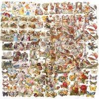 Glansbilder, helårs, 16,5x23,5 cm, 30 ark/ 1 pk.