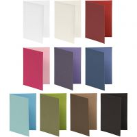 Brevkort, kort str. 10,5x15 cm, Innhold kan variere , 250 g, ass. farger, 30 pk./ 1 pk.