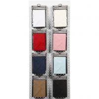 Konvolutt, konvolutt str. 11,5x16 cm, 110 g, ass. farger, 8x10 pk./ 1 pk.