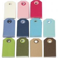 Fargerike manillamerker, str. 6x3 cm, Innhold kan variere , ass. farger, 200 ass./ 1 pk.