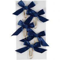 Klips, str. 40x70 mm, blå, 5 stk./ 1 pk.