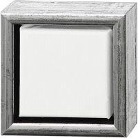 ArtistLine Canvas med ramme, dybde 3 cm, str. 14x14 cm, 360 g, hvit, 6 stk./ 1 pk.