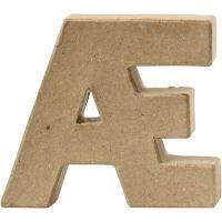 Bokstav, Æ, H: 10 cm, tykkelse 2 cm, 1 stk.